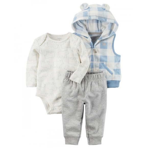 2abadf52c Carter's Matching Sets | New Carters Baby Boy Vest Pants Set Clothes ...